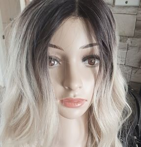 Outre Stevie Wig Ombre Blonde Synthetic